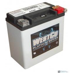 Westco WCP14L AGM 12V 12Ah 220A gyárilag zárt motorakku