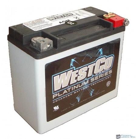 Westco WCP20L AGM 12V 18Ah 310A gyárilag zárt motorakku