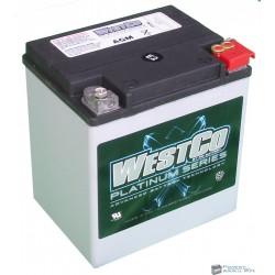 Westco WPC30 AGM 12V 26Ah 400A gyárilag zárt motorakku