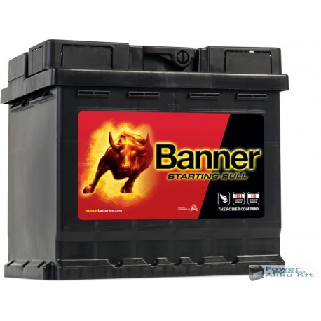 Banner Starting Bull 12V 45Ah 400A jobb+ akkumulátor