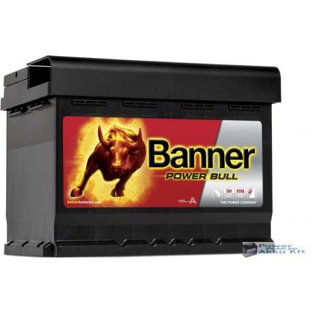 Banner Power Bull 12V 60Ah 540A Jobb+ akkumulátor