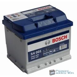 Bosch Silver S4 12V 44AH 440A J+ akkumulátor
