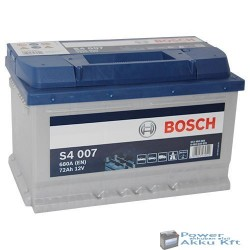 Bosch Silver S4 12V 72Ah 680A J+ akkumulátor