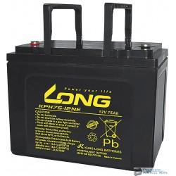Long 12V 75Ah akkumulátor KPH75-12NE