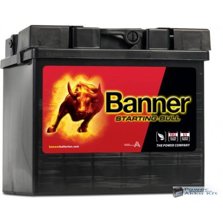 BANNER Staring Bull 12 V 30 AH 300A bal+ akkumulátor