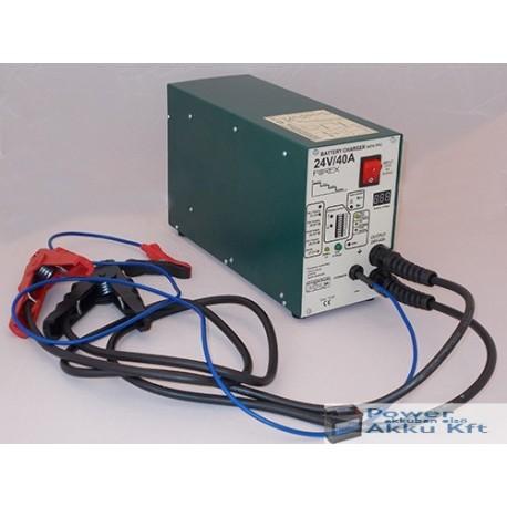 24V 40A automata akkumulátortöltő T2440