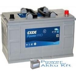 Exide 12v 120Ah 870A peremes jobb+ teherautó akkumulátor EF1202