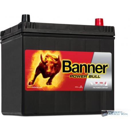 Banner Power Bull Ázsia 12V 60Ah jobb+ 510A akkumulátor