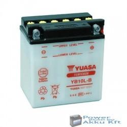 YUASA YB10L-B 12V 11Ah 120A jobb+ motorkerékpár akkumulátor