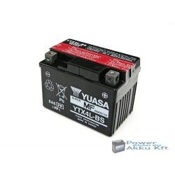 YUASA YTX4L-BS 12V 3Ah 50A jobb+ motorkerékpár akkumulátor