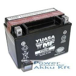 YUASA YTX9-BS 12V 8Ah 135A bal+ motorkerékpár akkumulátor