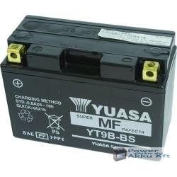 YUASA YT9B-BS 12V 8Ah 120A bal+ motorkerékpár akkumulátor