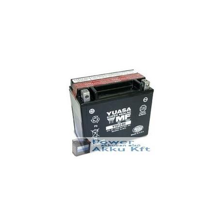 YUASA YTX12-BS 12V 10Ah 180A bal+ motorkerékpár akkumulátor