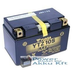 YUASA YTZ10-S 12V 8,5Ah 190A bal+ motorkerékpár akkumulátor