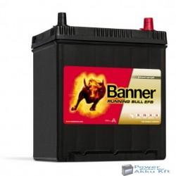 Banner Running Bull EFB 12V 38Ah 400A jobb+ autó akkumulátor