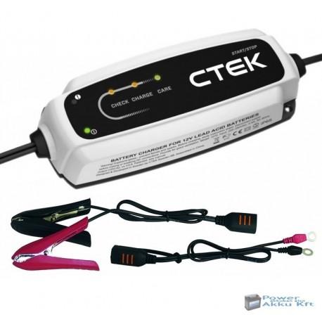 CTEK - CT5 START/STOP akkumulátor töltő