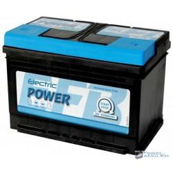 Electric Power 12V 65Ah 680A Jobb+ SMF EFB Start-Stop Akkumulátor