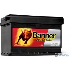 Banner Power Bull 12V 72Ah 660A Jobb+ akkumulátor