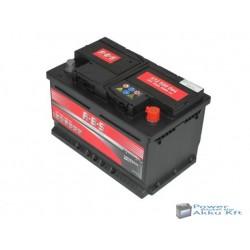 ABS 12v 72ah 640A Jobb+ akkumulátor