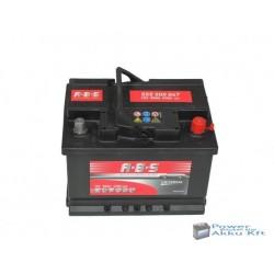 Abs Universal 12v 55ah jobb+ autó akkumulátor