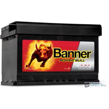 Banner Power Bull 12V 74Ah 680A Jobb+ akkumulátor