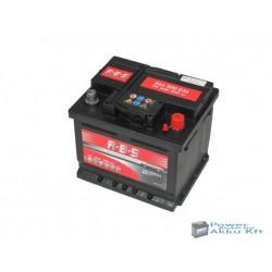 Abs Universal 12v 44ah jobb+ autó akkumulátor