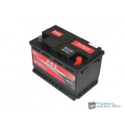 ABS 12V 74Ah 680A Jobb+ akkumulátor