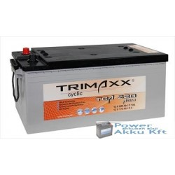 TRIMAXX TCA 220 12V 220Ah akkumulátor