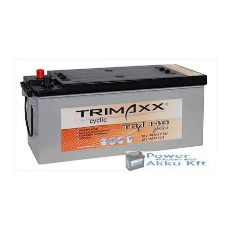 TRIMAXX TCA 140 12V 140Ah AGM akkumulátor