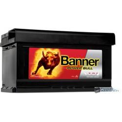 Banner Power Bull 12V 80Ah 700A jobb+ akkumulátor