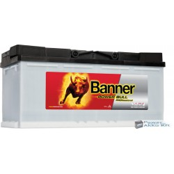 Banner Power Bull Pro. 12V 100Ah 820A jobb+ akkumulátor