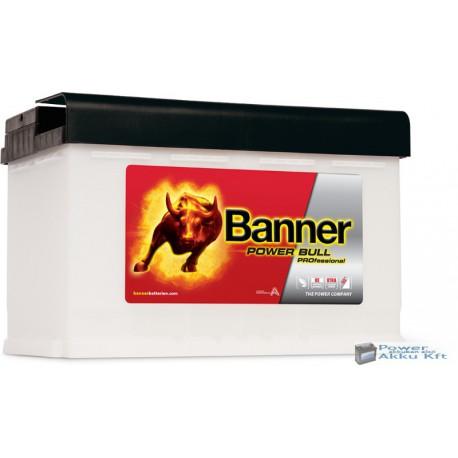Banner Power Bull Pro. 12V 84Ah 760A jobb+ akkumulátor