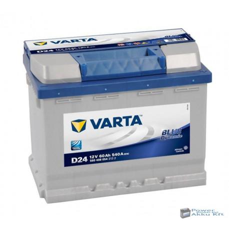 VARTA Blue Dynamic 12V 60Ah 540A Jobb+ akkumulátor