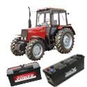 Traktor, Munkagép akkumulátor