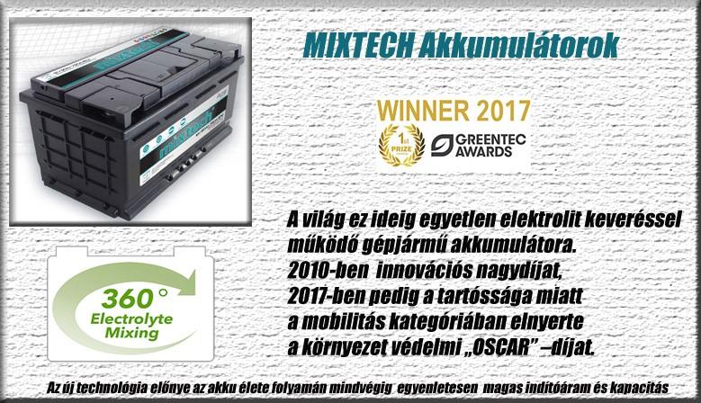 Mixtech akkumulátor