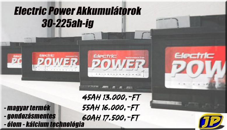 Electric Power akkumulátor