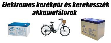 Elektromos kerékpár és kerekesszék akkumulátorok