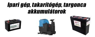 Takarítógép, Ipari gép Akkumulátor