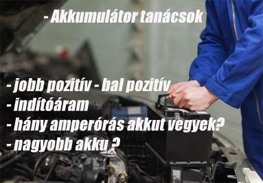 Akkumulátor tanácsok