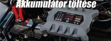 Akkumulátor töltése