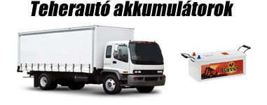 Teherautó akkumulátorok